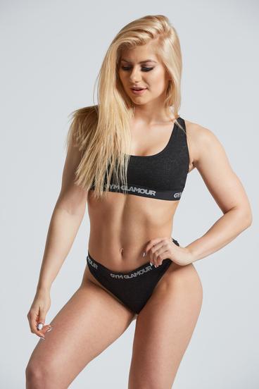 Gym Glamor Set Underwear Black