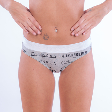 Calvin Klein Kalhotky Heritage Šedé