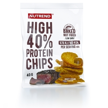 Nutrend Proteinové Chipsy Juicy Steak