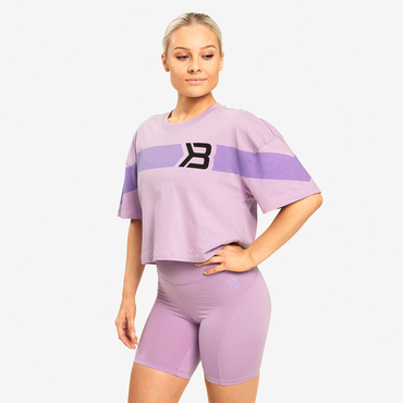 Better Bodies T-shirt Chrystie Tee Lilac