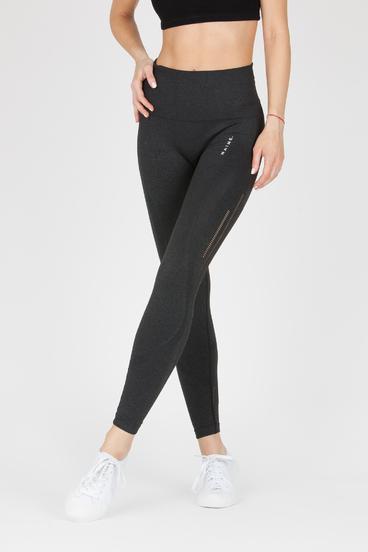 Naine 4.0. Seamless Leggings Stripes - Black