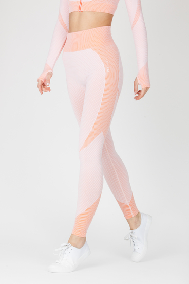 Naine 4.0. Seamless Leggings Curve - Pink