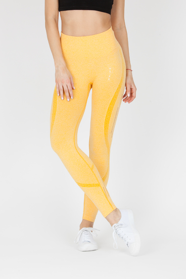 Naine 4.0. Seamless Leggings Stripes - Yellow