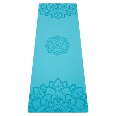 Yoga Design Lab 6.0mm Flow Mat - Pure Mandala Aqua