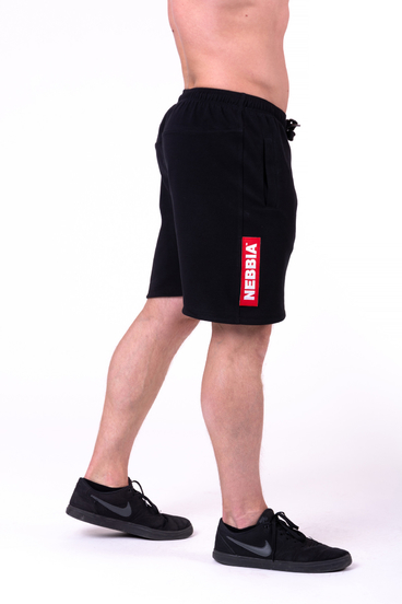 Nebbia Short 152 Red Label Men Black