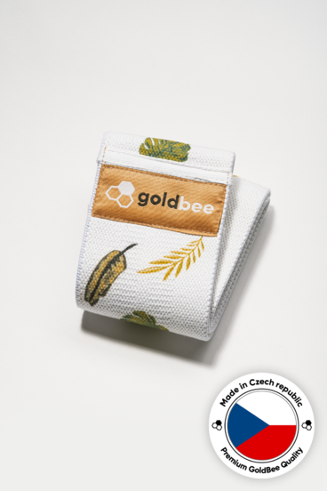 GoldBee Textile Band Leaves