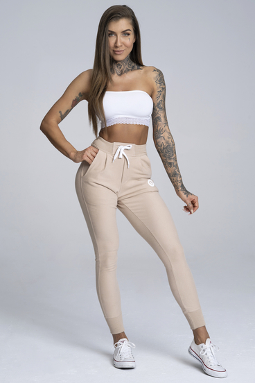Boyfriend Sweatpants Beige