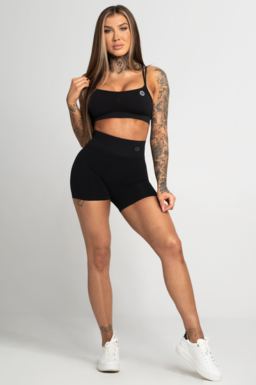 Gym Glamour Short Seamless Black