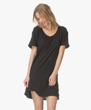 Calvin Klein Dámská Noční Basic Košilka Černá