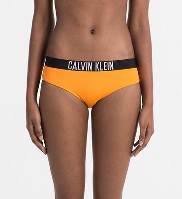Calvin Klein Plavky Bikini Intense Power Oranžové Spodní Díl