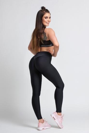Gym Glamour Legíny Black - S, S