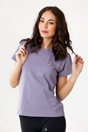 GoldBee T-shirt Organic Lilac