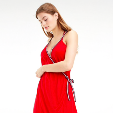 Tommy Hilfiger Dress Cover Up Red