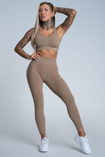 Gym Glamour Leggings Push Up Nude