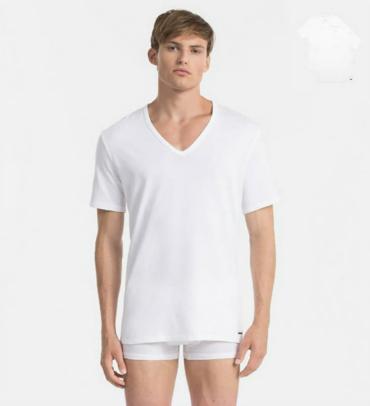 Calvin Klein 2Pack Pánská Trička Bílá