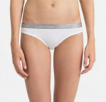 Calvin Klein Kalhotky Radiant Bílé