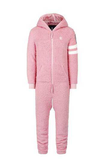 OnePiece Teddy Love Fleece Pink Glow