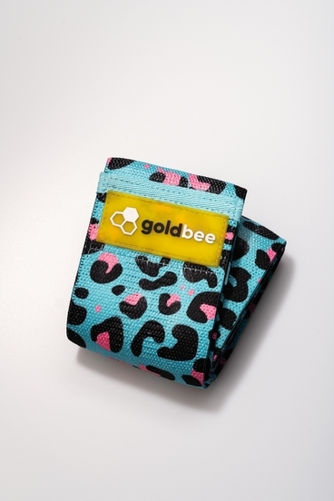 GoldBee Textile Band - Blue Pink