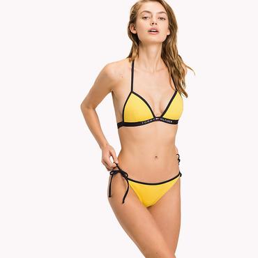 Tommy Hilfiger Cheeky String Side Plavky Yellow Spodní Díl