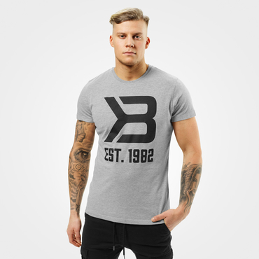 Better Bodies T-shirt Washington Tee Grey Melange
