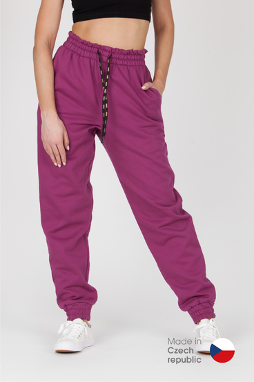 GoldBee Sweatpants BeComfy Wine