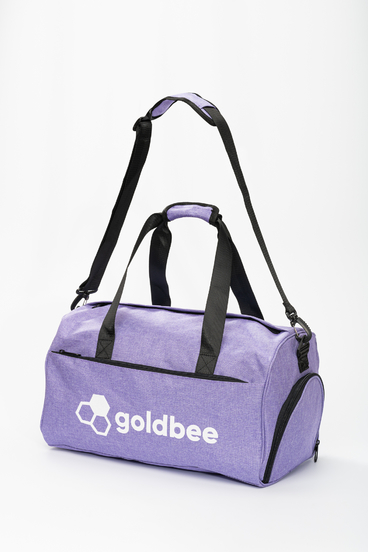 GoldBee Sport Bag - Purple