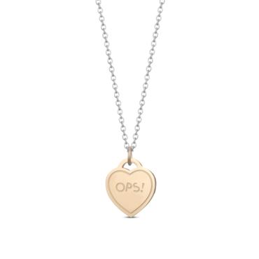 Ops! Objects Paint Náhrdelník Gold Heart