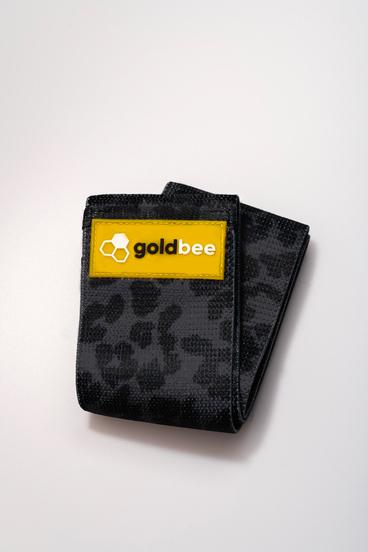 GoldBee Textile Band - Black Leopard
