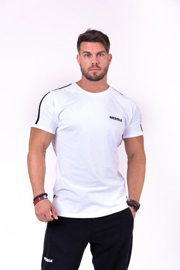 Nebbia T-Shirt 143 90´s Hero Men White