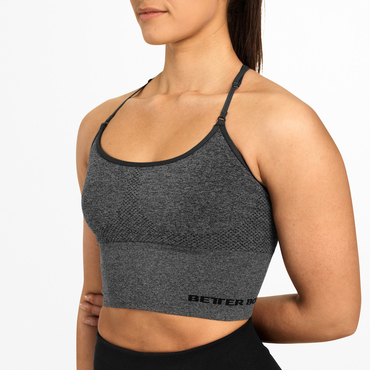 Better Bodies Bra Astoria Seamless Graphite Melange