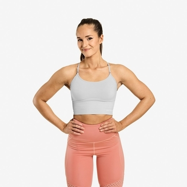 Better Bodies Bra Astoria Seamless Frosted Grey
