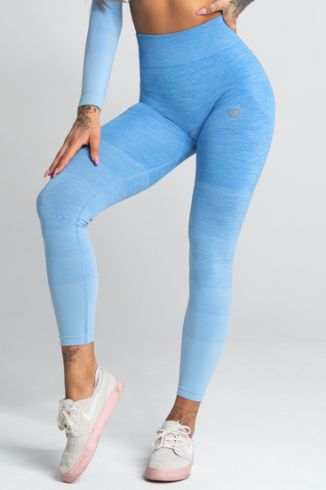 Gym Glamour Leginsy Blue Ombre