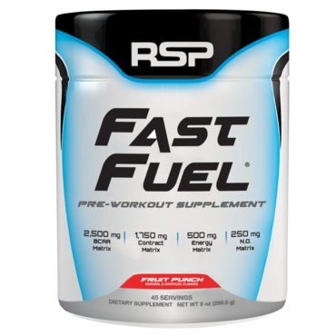 RSP Pre-Workout Fast Fuel - Fruit Punch