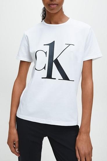 Calvin Klein CK ONE SS Crew Neck Tee White