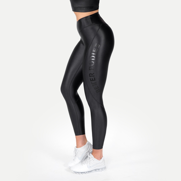 Better Bodies Leggings Vesey Black VS - Shiny