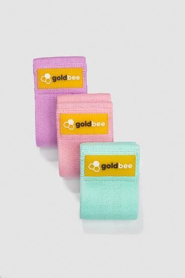 GoldBee Textile Resistance Band - set A | 3 pcs