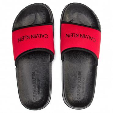 Calvin Klein Pantofle Core Neo Plus Red