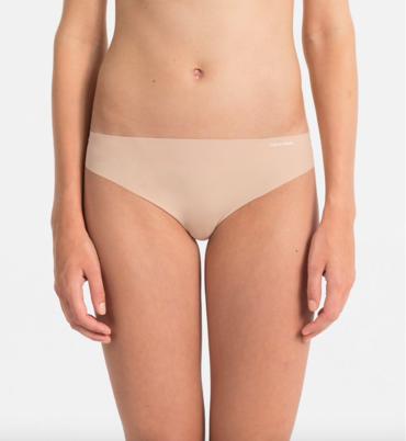 Calvin Klein Tanga Bezešvé Tělové