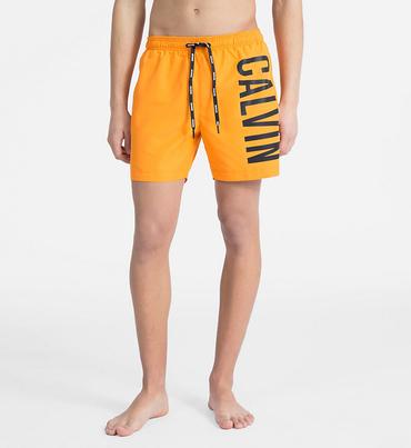 Calvin Klein Plavkové Šortky Intense Power Orange