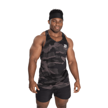 Better Bodies Essential T-Back Dark Camo