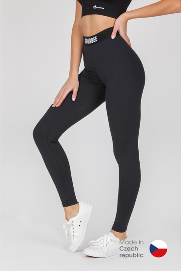 GoldBee Leggings BeOne Black CZ