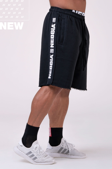 Nebbia Shorts 177 Essential - Black