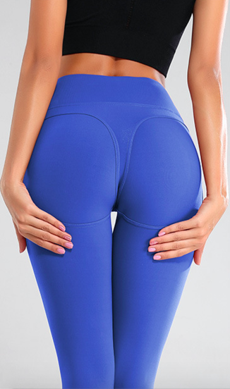 Naine 1.0. Push-up Leggings - Blue