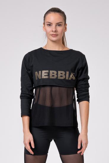 Nebbia T-Shirt 805 Intense Mesh Black