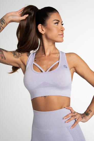 Gym Glamour Seamless Bra Fusion Lavender