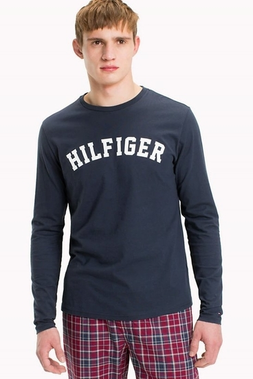 Tommy Hilfiger T-Shirt Tee Logo Navy