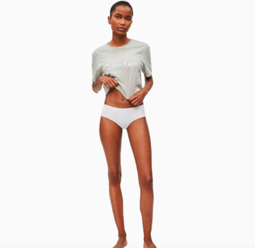 Calvin Klein Hipsters Invisibles White