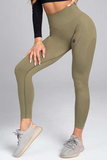 Gym Glamour Leggings Seamless Combat Khaki