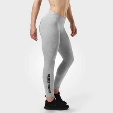 Better Bodies Leggings Kensington White Melange