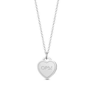 Ops! Objects Paint Náhrdelník Silver Heart